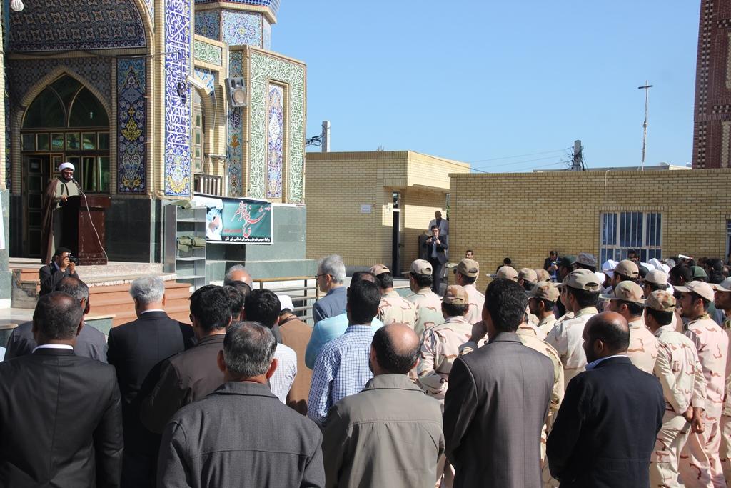 شهادت شیخ نمر - شهرداری قشم (6)