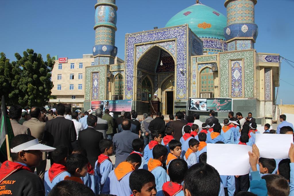 شهادت شیخ نمر - شهرداری قشم (7)