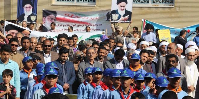 حضور پرشور در راهپیمایی ۲۲ بهمن