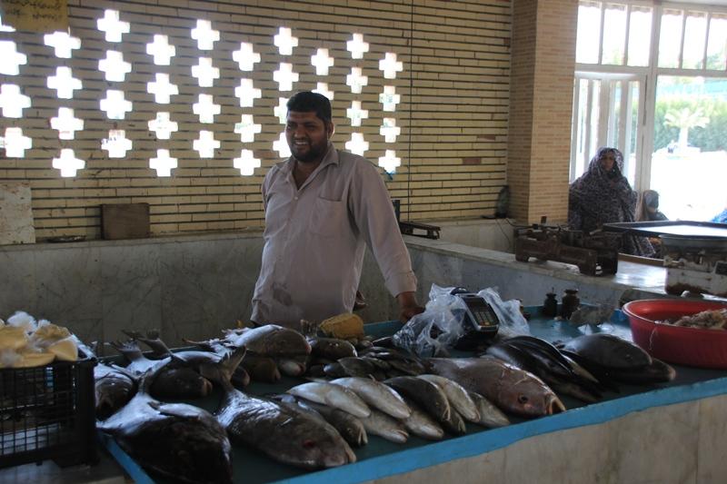 بازار ماهی فروشان قشم