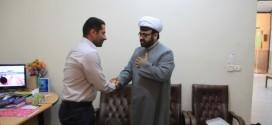 دیدارهای نوروزی شهردار قشم با مسئولین شهرستان