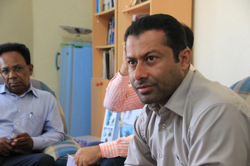 محمد مسطوری شهردار قشم