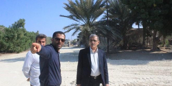 بازدید از پروژه های در حال اقدام توسط شهردار و رئیس شورای شهر