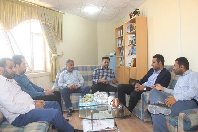جلسه شهردار با مدیران شهرداری