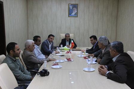شورای اسلامی شهر میزبان ریاست شبکه بهداشت قشم
