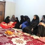 دایدار بانوان شاغل در شهرداری قشم با مادر شهید عجم قشمی به مناسبت روز مادر