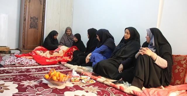 دایدار با مادر شهید عجم قشمی به مناسبت روز مادر