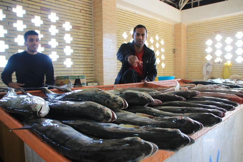 ماهی فروشان قشم
