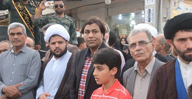 رحیمی هلری : عزت و اقتدار امروز ایران ، مرهون ایثار شهدای دفاع مقدس است