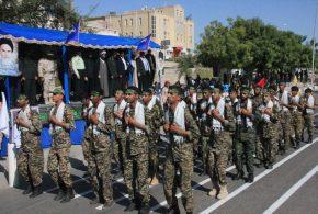 مراسم رژه نیروهای مسلح برگزار شد