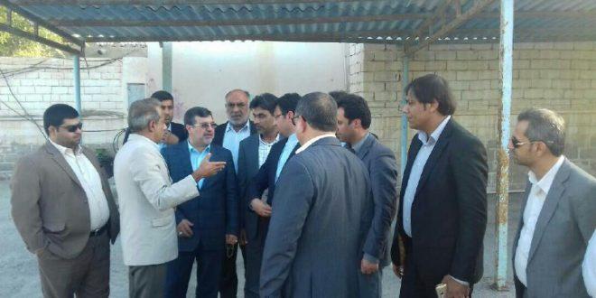 بازدید استاندار از مجموعه شهرداری و شورای اسلامی شهر قشم