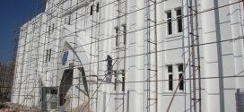 مراحل پایانی پروژه ساختمان جدید شهرداری
