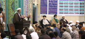 دیدار مردمی نماینده آیت الله سیستانی با مردم قشم