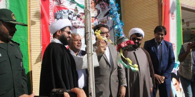 با حضور مسئولین آئین نواختن زنگ انقلاب انجام شد