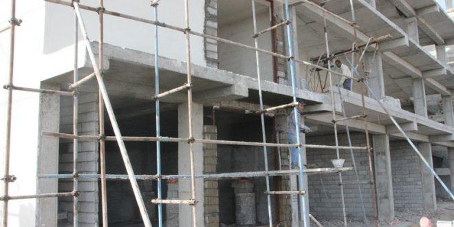ساخت محل استقرار پست برق کنار شهرداری