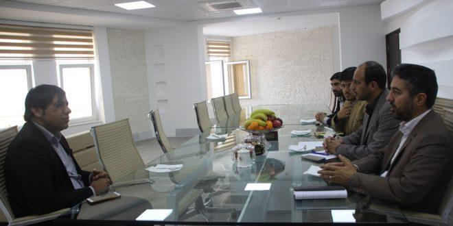 دیدار شهردار قشم با مدیرعامل شرکت بنادر و فرودگاه منطقه آزاد