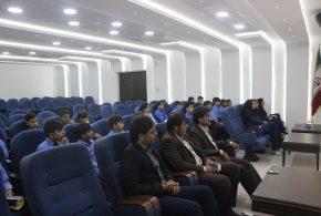 دیدار دانش آموزان دبستان غیردولتی پویش با اعضای شورای شهر قشم