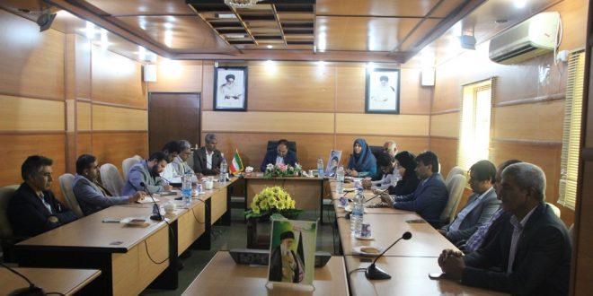 جلسه هماهنگی کمک به سیل زدگان کشور