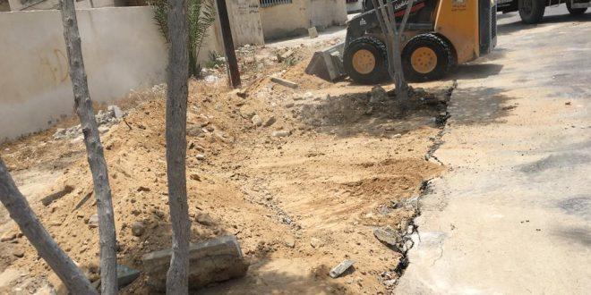 جمع آوری نخاله های محله گلشهر