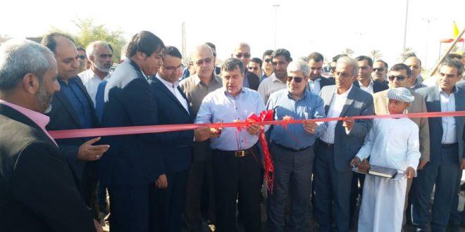 افتتاح پارک خطی به دست استاندار هرمزگان
